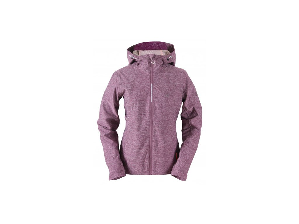 FOSKROS - dámská 2L outdoorová bunda - fialová