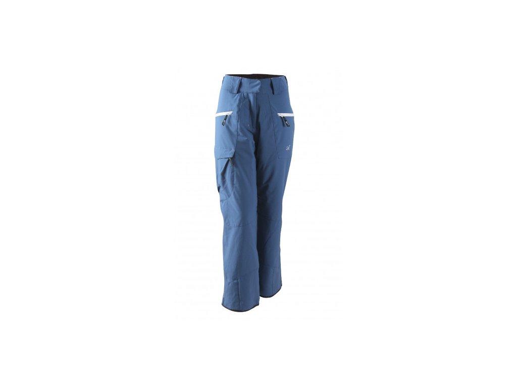 ÄNGSÖ - dámské lehké zateplené lyžařské kalhoty - modré