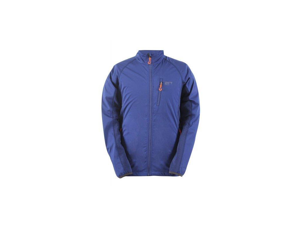 BILLERUD - pánská hybridní softshellová bunda - stone blue