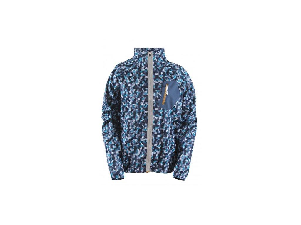 BODEN - pánská multisportovní bunda - modrá