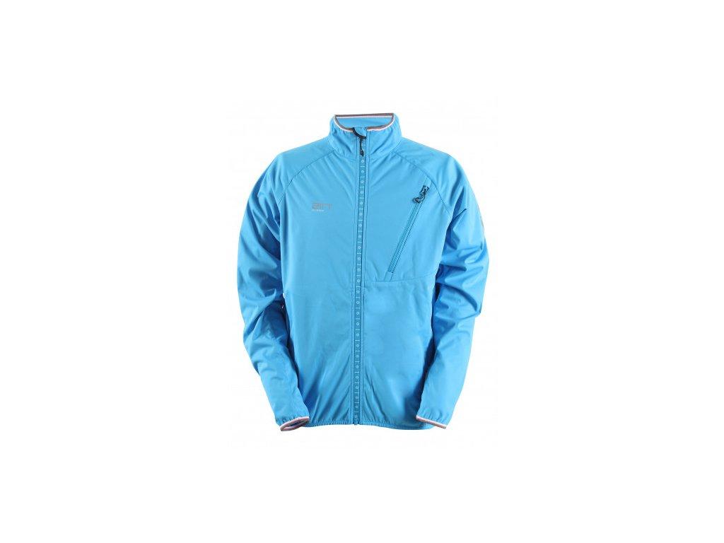 VÄSTERPLANA - pánská ultrallight-softshell bunda bez kapuce - modrá
