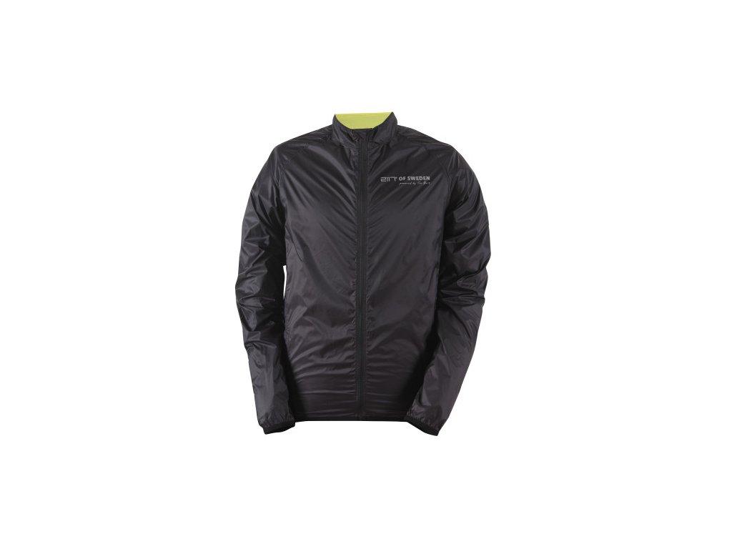 HALE - pánská ultralehká bunda proti větru - černá