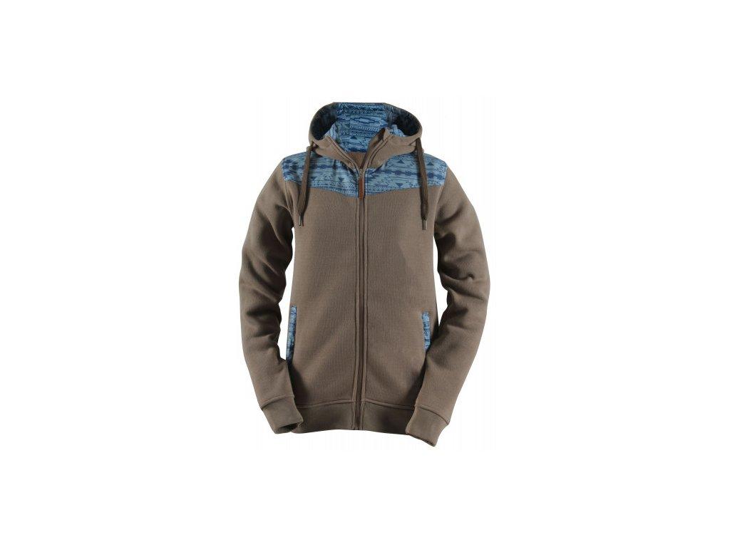DINGLE - pánská wavefleece bunda s kapucí Barva: 019