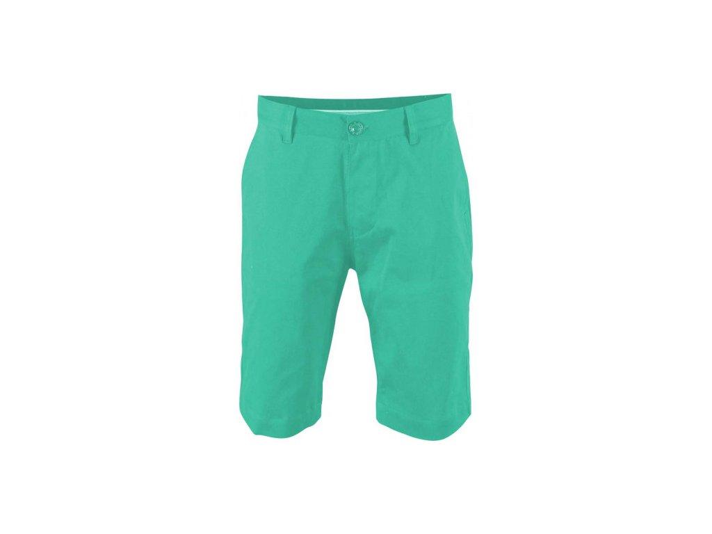 MARINE - pánské kraťasy(twill) - zelené
