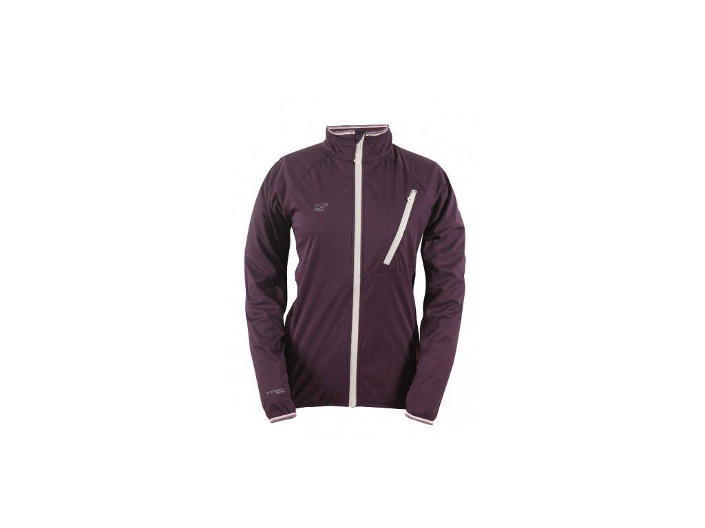 VÄSTERPLANA-dámská ECO softshellová bunda - fialová