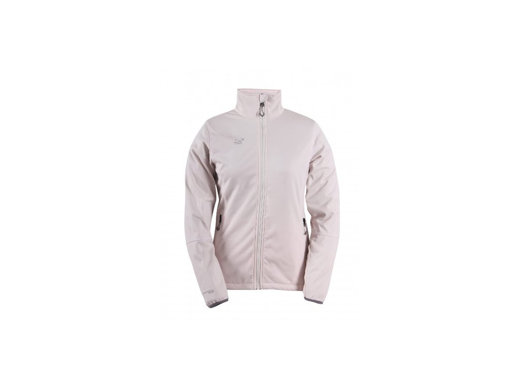 SKRATTEN - dámská NOS softshellová bunda bez kapuce - růžová