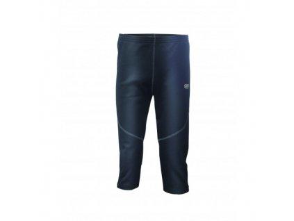 DUVED - pánské kalhoty, powerfleece - černé