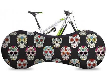 potah VELOSOCK design skulls