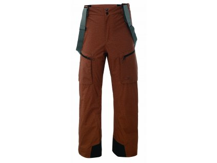 LANNA - ECO pánské 2L lyžařské kalhoty - rusty