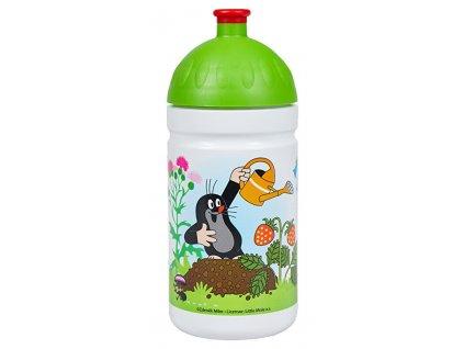 Zdravá lahev 0,5 l Krtek zelená