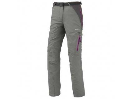 TRANGOWORLD - outdoorové kalhoty Mekong, dámské - béžovošedá