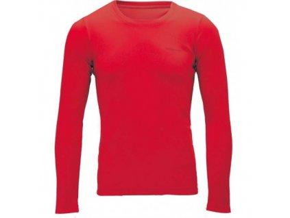 OXIDE - funkční XCO pánské triko s dlouhým rukávem - červené