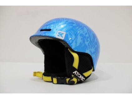 Dětská helma Atomic modrá velikost S