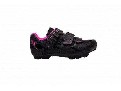 MTB tretry FLR F-65 Black/Pink
