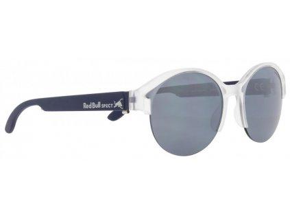 sluneční brýle RED BULL SPECT Sun glasses, WING5-005P, light grey/green with aqua mirror POL, 52-18-145