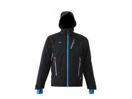 TIMMERSDALA- Pánská zateplená lyžařská bunda černá