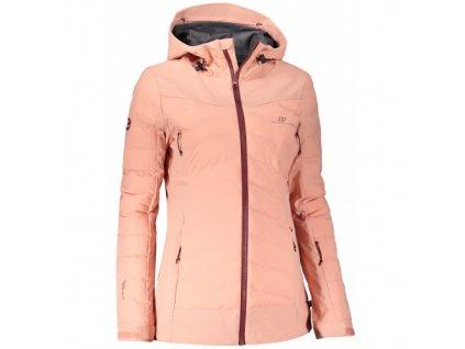 SAGEN - dámská 3L hybridní bunda - růžová