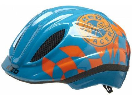 přilba KED Meggy Trend M racer petrol orange 52-58 cm
