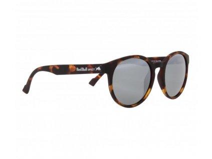 sluneční brýle RED BULL SPECT Sun glasses, LACE-003P, matt havana rubber, smoke with silver flash POL, CAT3, 53-20-145