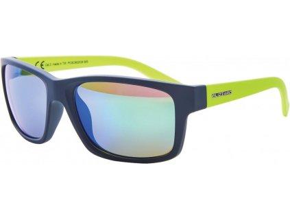 sluneční brýle BLIZZARD sun glasses PCSC602035, rubber dark green, 67-17-135