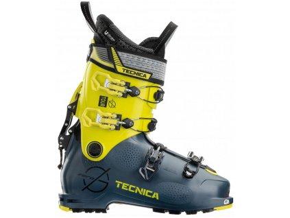 lyžařské boty TECNICA Zero G Tour, dark avio/yellow, 21/22