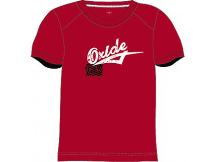 OXIDE, pánské triko -X-Cool - červené
