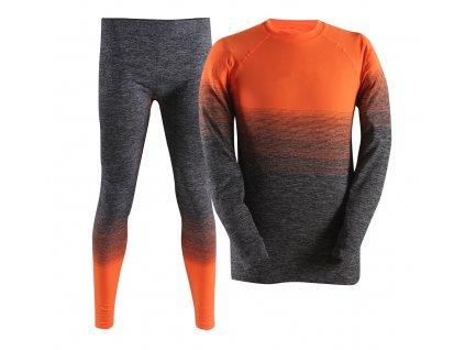 FLENMO-pánské/dětské bezešvé spodní prádlo - oranžové