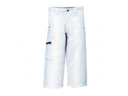 KLOTEN - dámské kalhoty 3/4 bílá