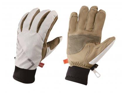 HANDÖL ECO lyžařské rukavice, barva bílá