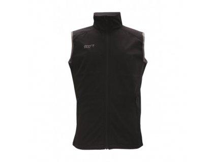 SAXNÄS pánská softshellová vesta, barva černá