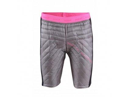 PADJELANTA - Dámské ECO izolační kalhoty krátké tmavě šedá