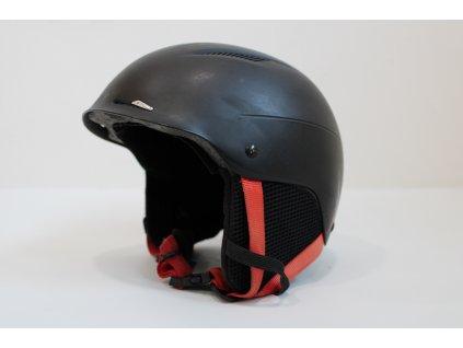 Helma Atomic černo/červená matná velikost M