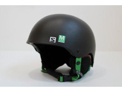 Helma Salomon JR černo/zelená  55-58 cm