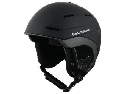 helma BLIZZARD Bormio ski helmet, black matt/anthracite matt