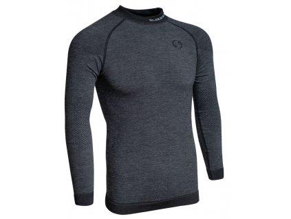funkční triko BLIZZARD Mens long sleeve, merino wool, anthracite