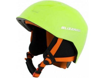 helma BLIZZARD Signal ski helmet junior, yellow