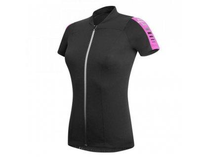 dres RH+ Spirit W Jersey, black/deep pink, AKCE
