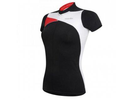 dres RH+ Trinity W Jersey, black/white/red, AKCE