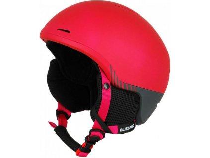 helma BLIZZARD Viva Speed ski helmet, bordeaux matt/grey matt