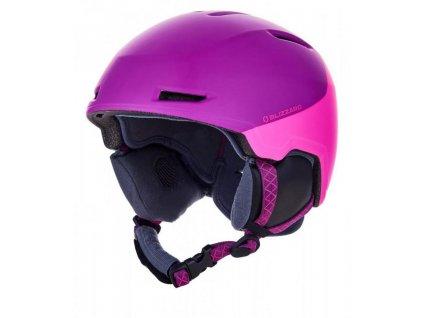helma BLIZZARD Viva Viper ski helmet junior, violet matt/pink matt