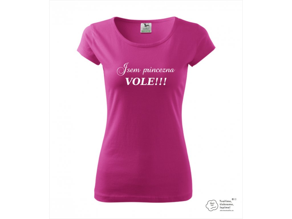 9e8f9413845f Triko JSEM PRINCEZNA VOLE! - Skrč to shop
