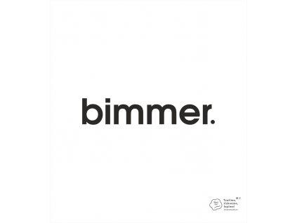 nálepka bimmer 3