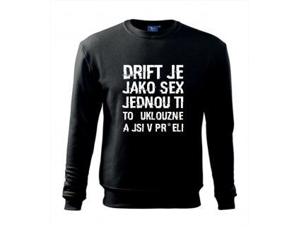 driftex text mikina