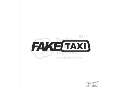 nálepka fake taxi 2