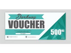 Dárkový voucher 500