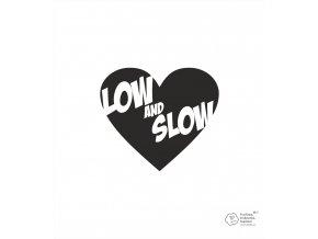 nálepka low and slow 44