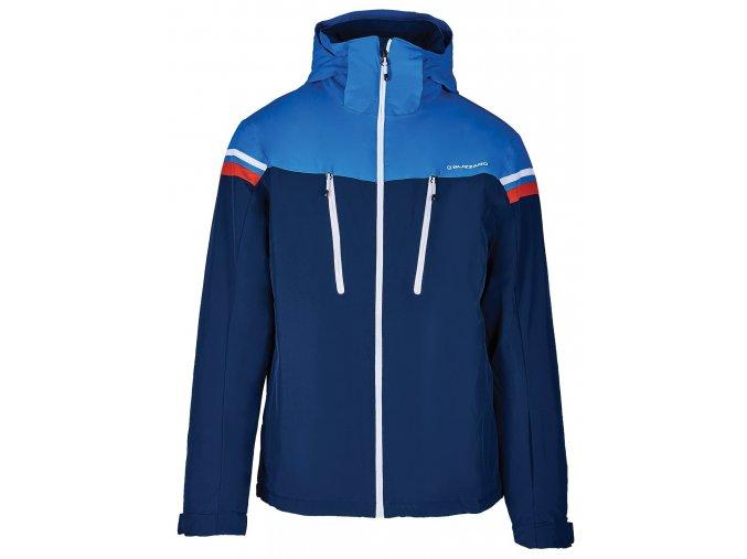 lyžařská bunda BLIZZARD Mens Ski Jacket Civetta, dark blue/bright blue/white (Veľkosť XXL)