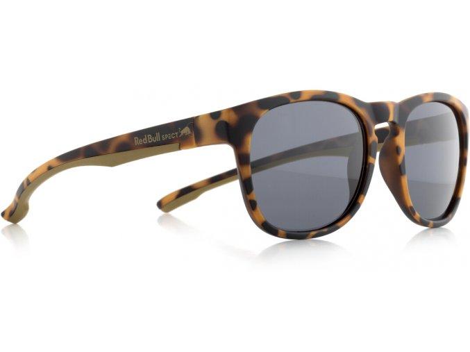 Slnečné okuliare RED BULL SPECT Sun glasses, OLLIE-002P, brown pattern, smoke POL, 53-20-145