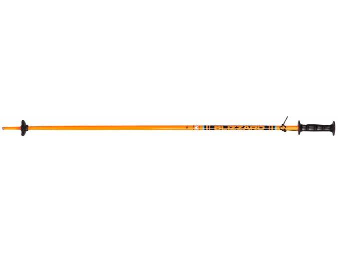 Lyžiarske palice BLIZZARD Race junior ski poles, orange/black