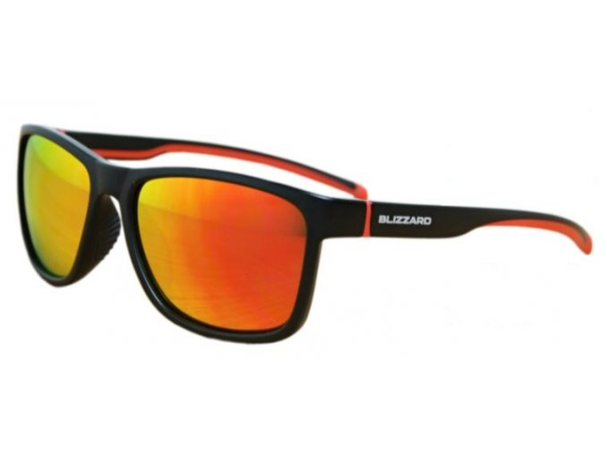 Slnečné okuliare BLIZZARD sun glasses POLSF704130, rubber black, 63-17-133